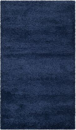 Starr Hill Navy Blue Area Rug Rug Size: Rectangle 4' x 6'