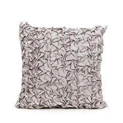 Cordoba Throw Pillow Color: Silver