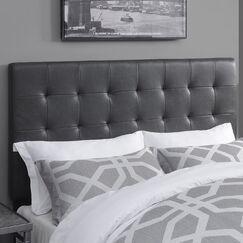 West Highland Upholstered Panel Headboard Size: Queen, Upholstery Color: Lummus Cognac