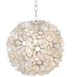 1-Light Pendant Shade Color: Off White