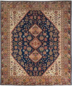 One-of-a-Kind Ziegler Hand-Knotted Navy Area Rug