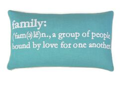 Absher Family Definition Lumbar Pillow