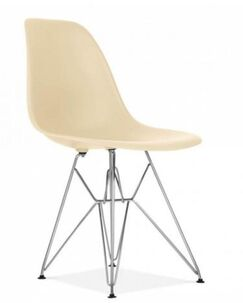 Gaul Dining Chair Color: Cream