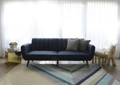 Ultralight Hand-Tufted Area Rug Rug Size: Rectangle 5' x 8'