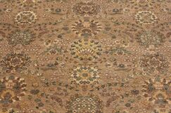 One-of-a-Kind Montague Hand-Knotted Wool Brown Area Rug