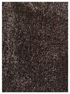 Sanford Hand-Tufted Brown Area Rug Rug Size: Rectangle 4' x 6'