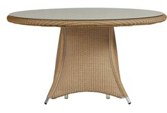 Generations Wicker Rattan Dining Table Finish: Hickory