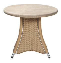 Generations Wicker Rattan Dining Table Finish: Linen