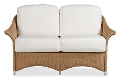 Generations Loveseat with Cushions Finish: Chicory