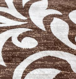 Knoxville Brown Area Rug Rug Size: Rectangle 4' x 5'