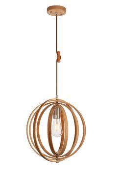 Warnick 1-Light Globe Pendant