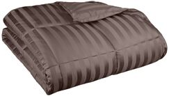 Midweight Down Alternative Comforter Size: Full/Queen, Color: Charcoal