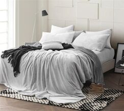 Pinney Sheet Set Size: Queen, Color: Gray