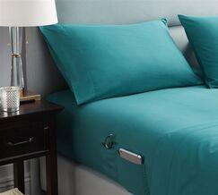 Browner Bedside Pocket Sheet Set Size: California King, Color: Ocean Depths Teal