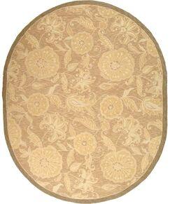 Brayton Light Brown/Ivory Area Rug Rug Size: Rectangle 8'9