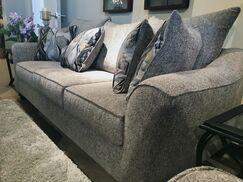 Driskill Sofa Upholstery: Brown