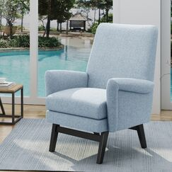 Spicewood Armchair Upholstery: Light Blue