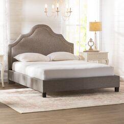 Humphries Upholstered Platform Bed Size: King