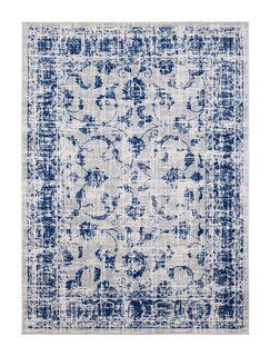 Emmalynn Gray/Blue Area Rug Rug Size: Rectangle 6'5