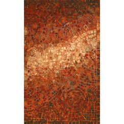 Alline Arch Tile Red Indoor/Outdoor Area Rug Rug Size: Rectangle 5' x 8'