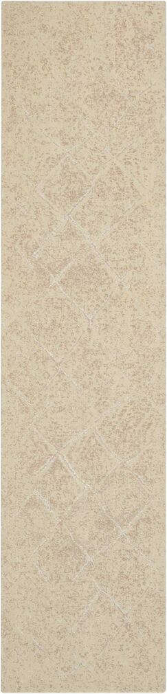 Soualem Geometric Gray/Ivory Area Rug Rug Size: Rectangle 2'5
