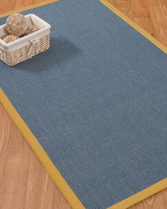 Ivy Border Hand-Woven Gray/Tan Area Rug Rug Size: Rectangle 5' x 8', Rug Pad Included: Yes