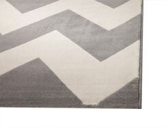 Colesberry Gray/Ivory Area Rug Rug Size: 7'9