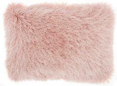 Boredale Shag Lumbar Pillow Color: Rose