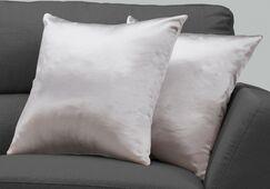 Mornington Throw Pillow Color: Silver