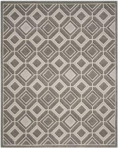 Maritza Gray/Light Gray Wool Area Rug Rug Size: Rectangle 8' x 10'