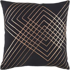 Steele Cotton Pillow Cover Size: 22