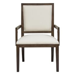 Manhattan Upholstered Dining Chair Body Fabric: Grey