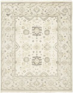 One-of-a-Kind Hein Hand-Knotted Wool Ivory Indoor Area Rug