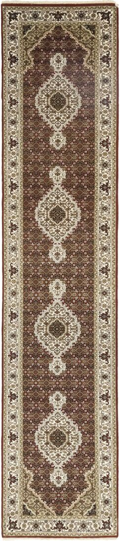 One-of-a-Kind Cortland Hand-Knotted Wool Brown Indoor Area Rug