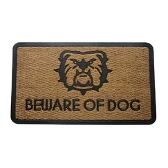 Waites Beware of Dogs Doormat