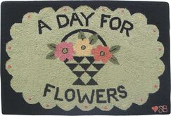A Day For Flowers Area Rug Rug Size: Rectangle 2' x 3'
