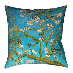 Lei Almond Blossom Floor Pillow Size: 28