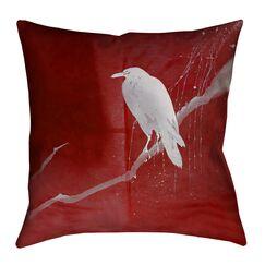 Hansard Crow and Willow 100% Cotton Throw Pillow Size: 14