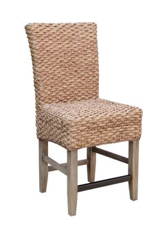 Nyi Seagrass Counter Dining Chair