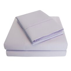 6 Piece 1000 Thread Count 100% Cotton Sheet Set Size: California King, Color: Lilac