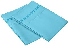 Garrick Solid Clouds Pillow Case Color: Charcoal, Size: King