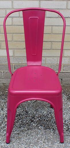 Ferraro Dining Chair Color: Plum