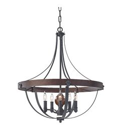 Bainbridge 5-Light Foyer Pendant