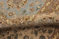 Ernesto Hand-Knotted Wool Blue/Tan Area Rug