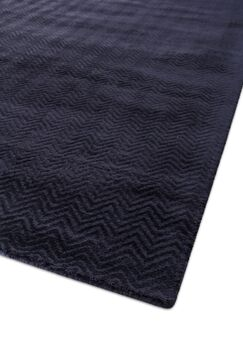 Pavo Hand-Woven Navy Area Rug Rug Size: Rectangle 8' x 10'