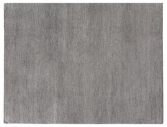 Perry Hand-Knotted Silk Gray Area Rug Rug Size: Rectangle 12' x 15'
