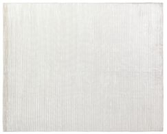 High Low Wave Hand-Woven White Area Rug Rug Size: 12' x 15'