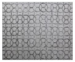Windsor Hand-Woven Wool Gray Area Rug Rug Size: Rectangle 8' x 10'