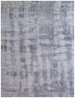 Antolini Hand-Woven Gray Area Rug Rug Size: Rectangle 6' x 9'