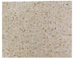 Natural Hide Hand-Tufted Cowhide Natural/Beige Area Rug Rug Size: Rectangle 5' x 8'
